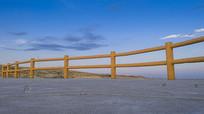 五彩滩行人护栏