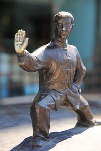 杨露禅武术大师雕像