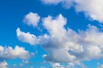 夏季蓝天白云
