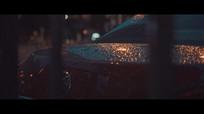 雨后的私家车