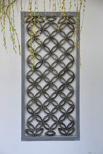 青瓦装饰背景墙