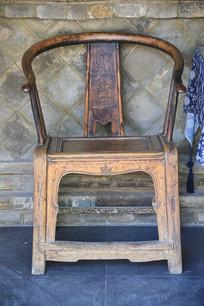 老物件靠背椅