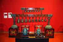 中国古代打击乐器编钟模型