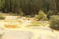 黄龙高原湿地彩池拍摄