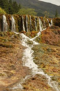 黄龙流水景观