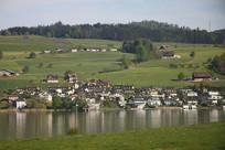 瑞士乡村田园风光