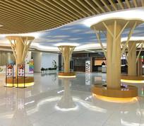 商业购物中心大厅
