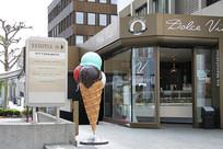 冰激凌店景观雕塑