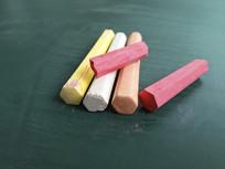 多彩粉笔图