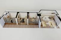 建筑内景模型