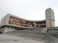 晋江博物馆建筑外观
