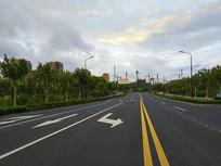 新区道路楼盘