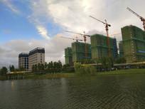 在建金水湖地产