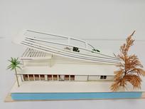 中式宅院微观模型