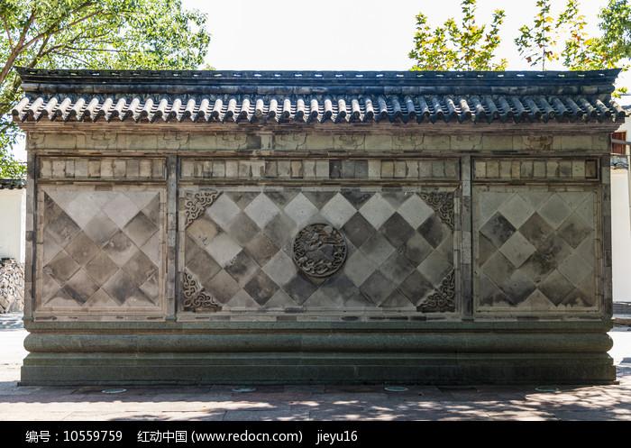 中国浙江宁波慈城古县衙照壁