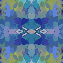 北欧艺术地毯印花