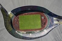广州奥林匹克体育中心鸟瞰