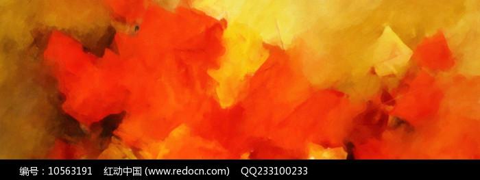 横幅抽象油画图片