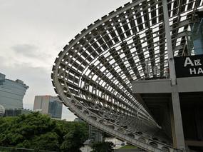 广州琶洲会展建筑特写