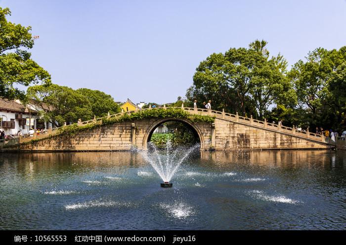 中国浙江舟山普陀山普济禅寺寿(永寿)桥