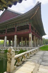韩国首尔景福宫的庆会楼