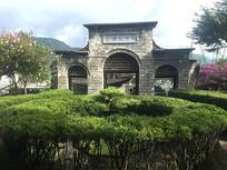 民国建筑大门