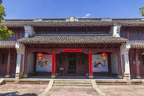 宁波慈城城隍庙重檐硬山顶大殿