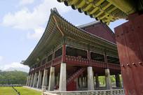 首尔朝鲜王朝王宫的庆会楼