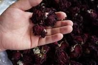 云南满泽墨红玫瑰花茶