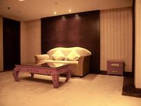 宾馆客厅沙发