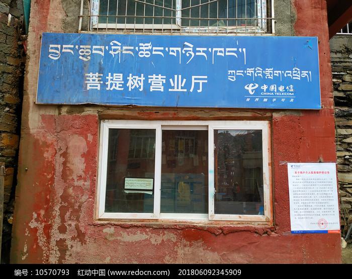 色达喇荣五明佛学院电信菩提树营业厅图片