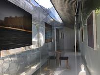 隐世叠院玻璃走廊