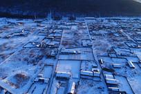 大兴安岭雪村