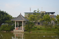 广州儿童公园凉亭