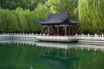济南珍珠泉古代建筑