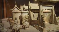 清朝时期的房子模型