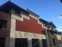 新中式民族风建筑立面
