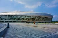 鞍山奥体中心体育场与空中广场