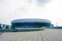 鞍山奥体中心体育馆与广场