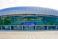 鞍山奥体中心体育馆与局部