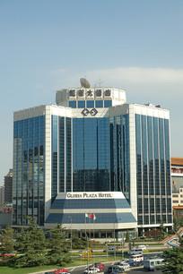 北京市凯莱大酒店玻璃幕墙