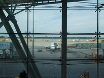 济南国际机场航站楼玻璃幕墙