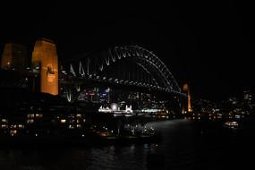 悉尼大桥夜景