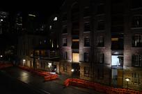悉尼大桥周边建筑灯光外墙