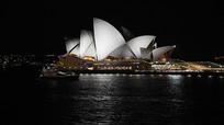 悉尼歌剧院灯光
