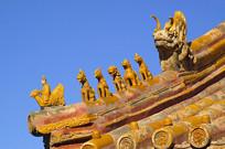 北京故宫五脊六兽
