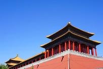 北京市故宫博物院阙左门
