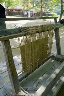 韩国民俗村-草垫编织及工具