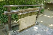 韩国民俗工艺草垫编织及工具