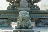 玑衡抚辰仪铜狮雕塑